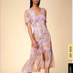 Lulu's Revolve Astr brand Chandler midi dress